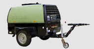 Bergerat Monnoyeur Inchirieri Rental of air compressors and pneumatic tools