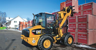 Bergerat Monnoyeur Inchirieri Rental of Caterpillar mini-wheel loaders