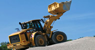 Bergerat Monnoyeur Inchirieri Rental of Caterpillar Wheel Loaders