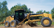 Bergerat Monnoyeur Inchirieri Rental of Caterpillar Motor Graders