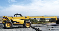 Bergerat Monnoyeur Inchirieri Rental of Caterpillar telehandlers
