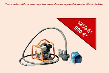 Bergerat Monnoyeur Inchirieri : pump special offer