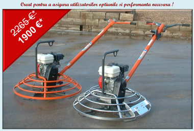 Bergerat Monnoyeur Inchirieri : power trowel special offer